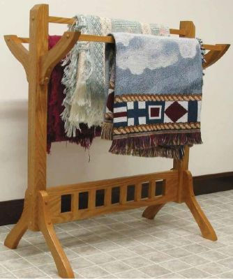 Los Altos Mission Quilt Rack