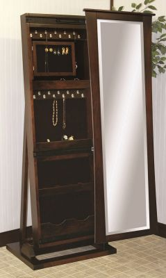 Rowan Jewelry Storage Mirror