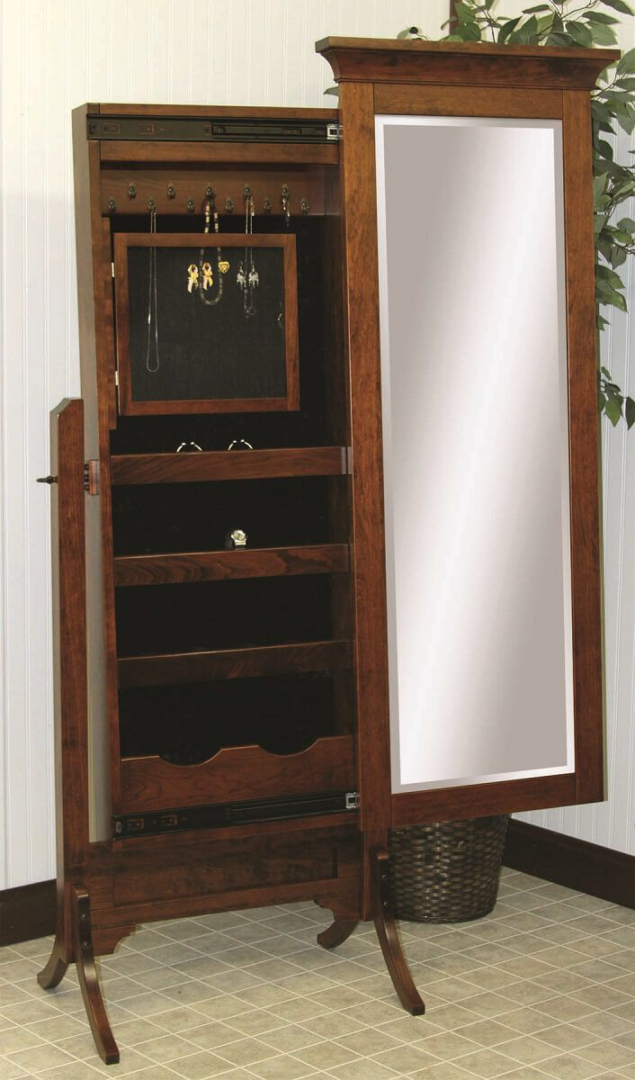 Ryker Jewelry Storage Mirror