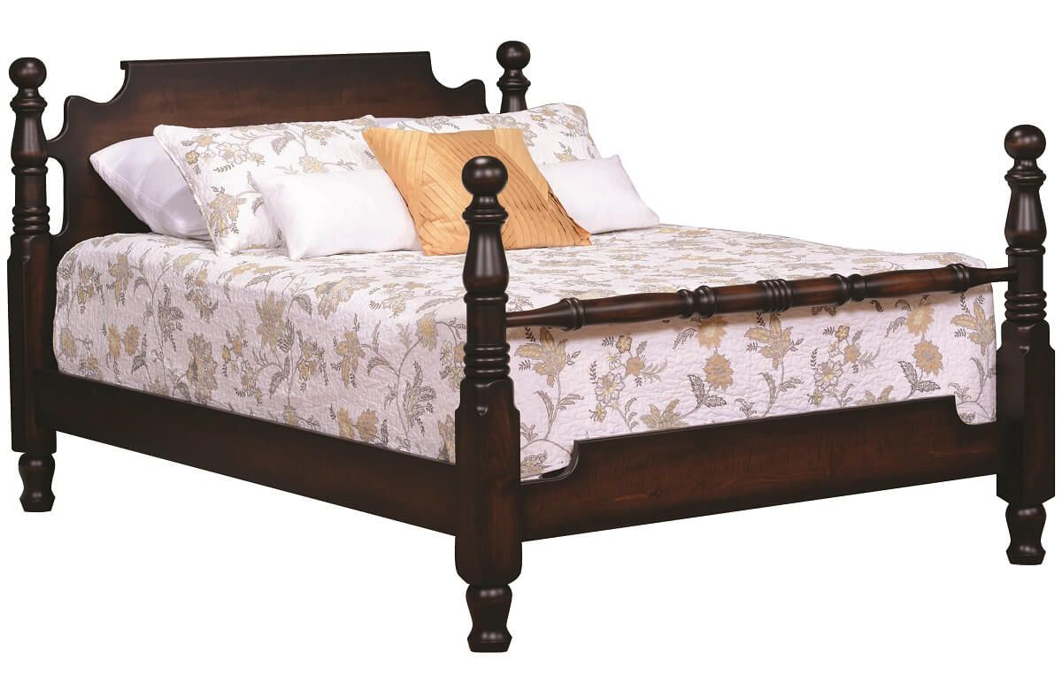 four design post haskell products img miramar antiques spindle bed