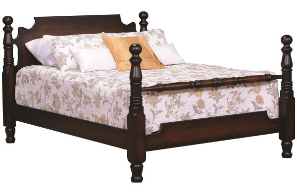 Antoinette Solid Wood Cannonball Bed