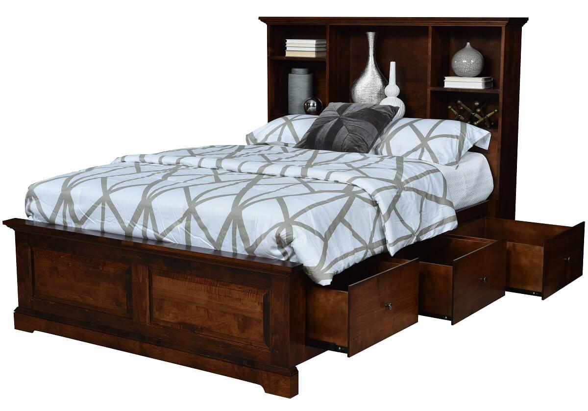 Bendersville Storage Bed