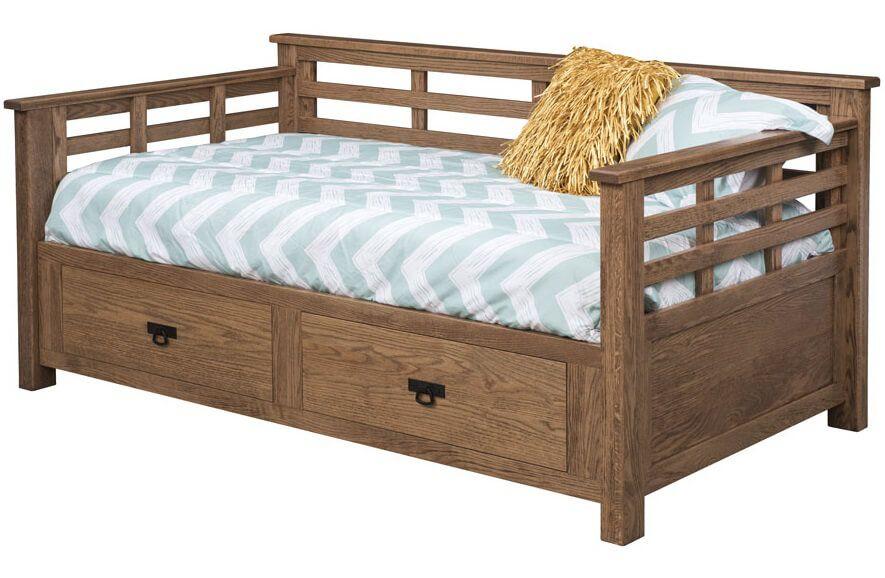 Darcie Day Bed in Oak