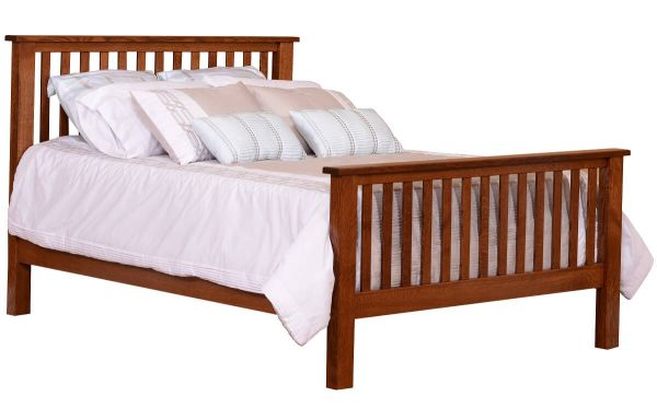 Percy Mission Slat Bed