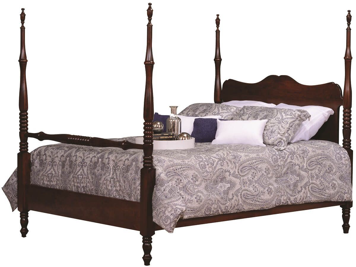 four poster bed warsaw wooden four poster bed countryside amish furniture 29868