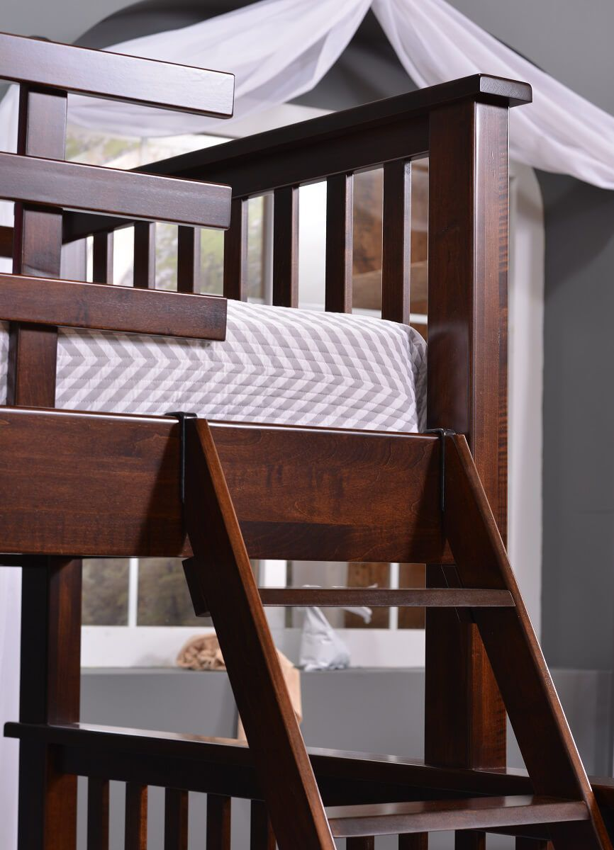 Hardwood Mission Bunk Bed
