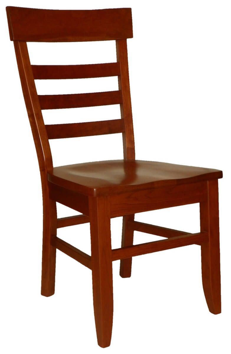 Alvy Amish Handmade Ladder Back Side Chairs