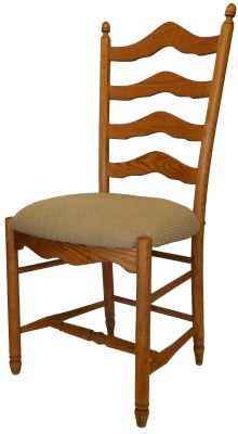 Tremendous Fairfield Acres Ladder Back Dining Chair Countryside Amish Furniture Download Free Architecture Designs Grimeyleaguecom