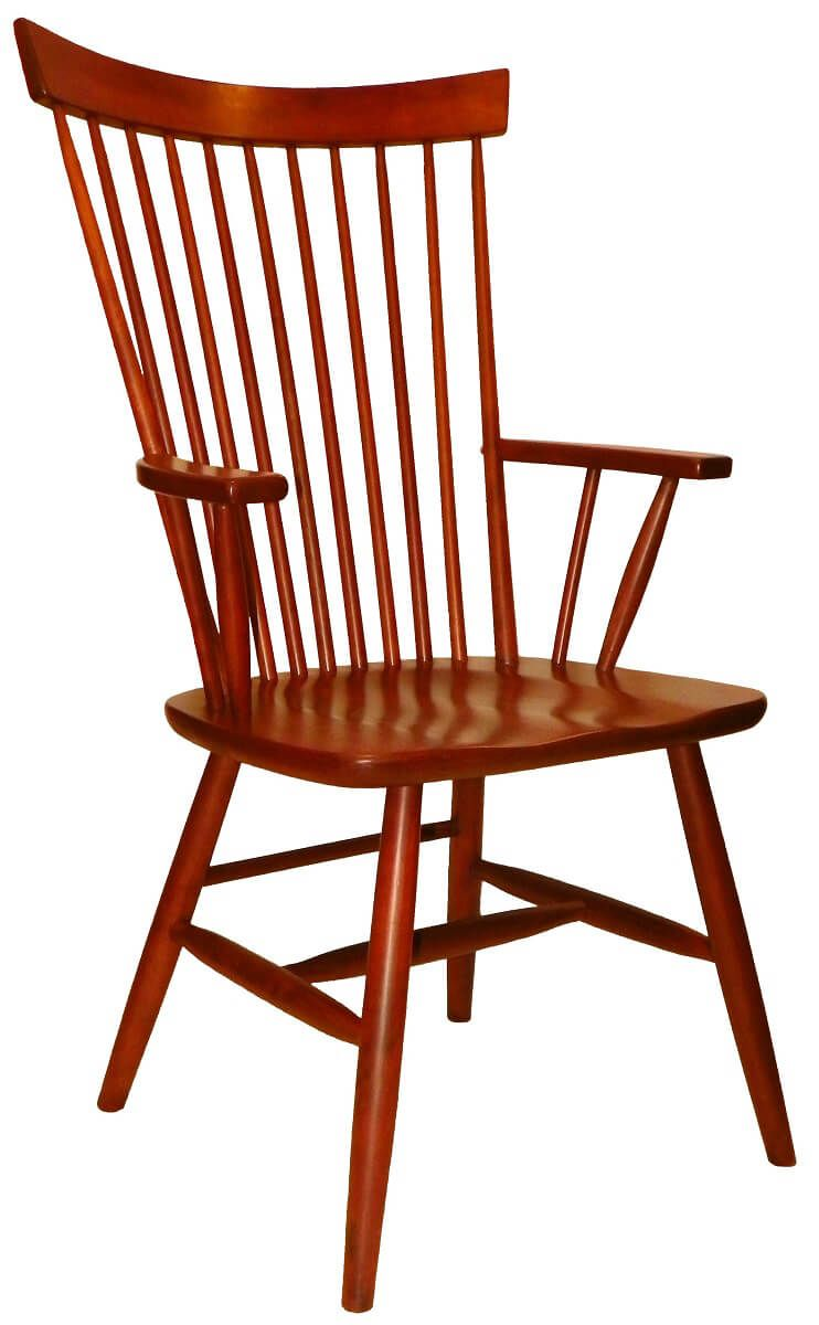 Amish Buckeye Solid Wood Dining Chair