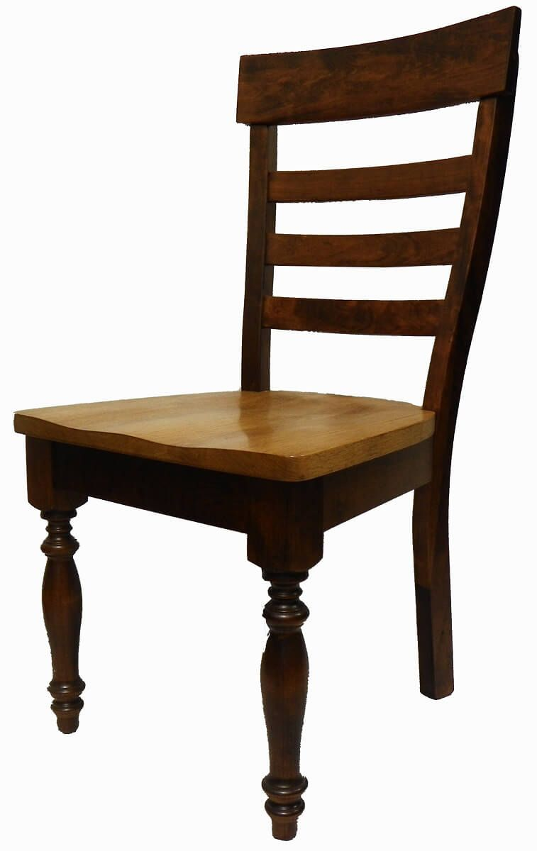 Lanier French County Ladder Back Side Chairs