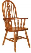 Noble Wheel Fiddle Back Chair