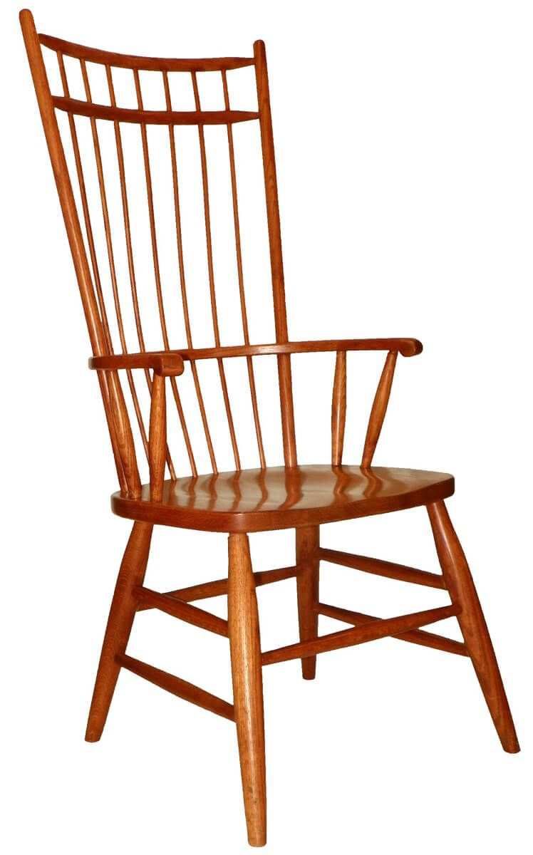 Peacock Alley Back Dining Arm Chairs
