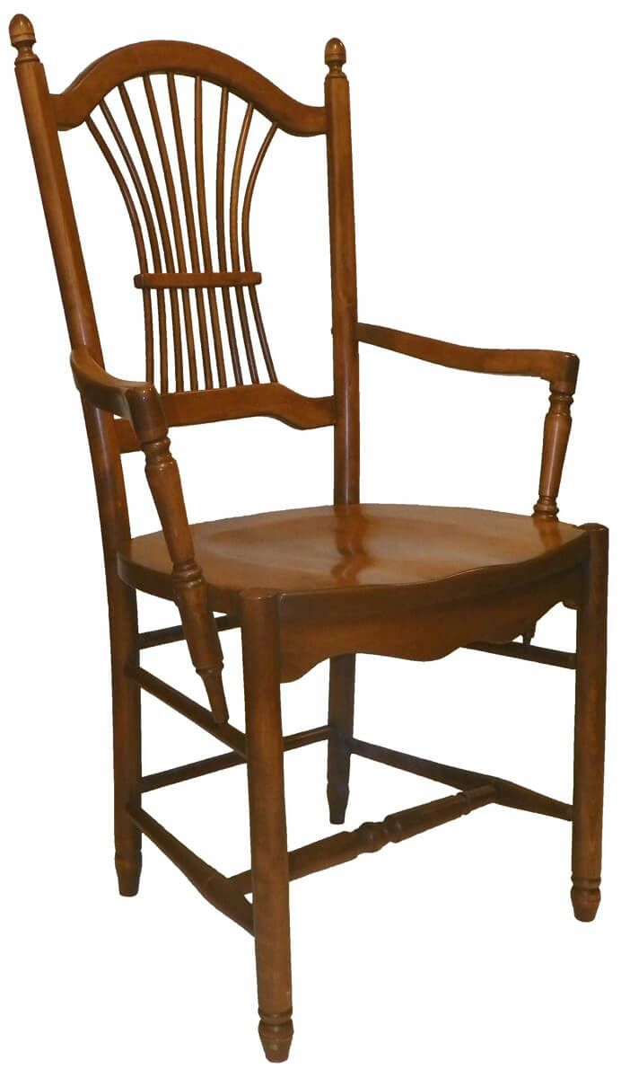 Willow Sheaf Back Dining Arm Chair