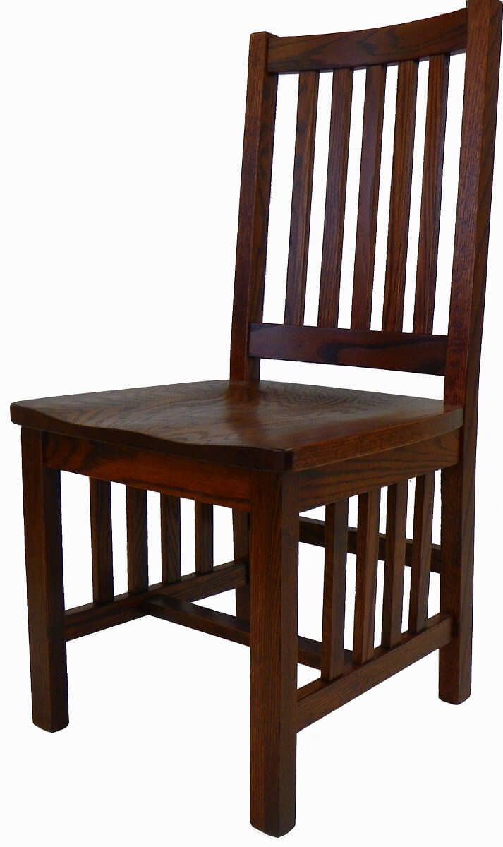 Yosemite Solid Oak Mission Dining Side Chair