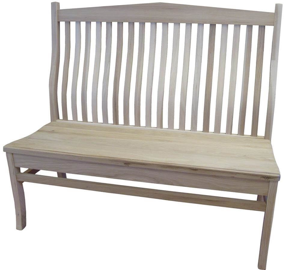 Archer Amish Handmade Mission Bench