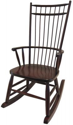 Peacock Alley Cage Back Rocking Chair