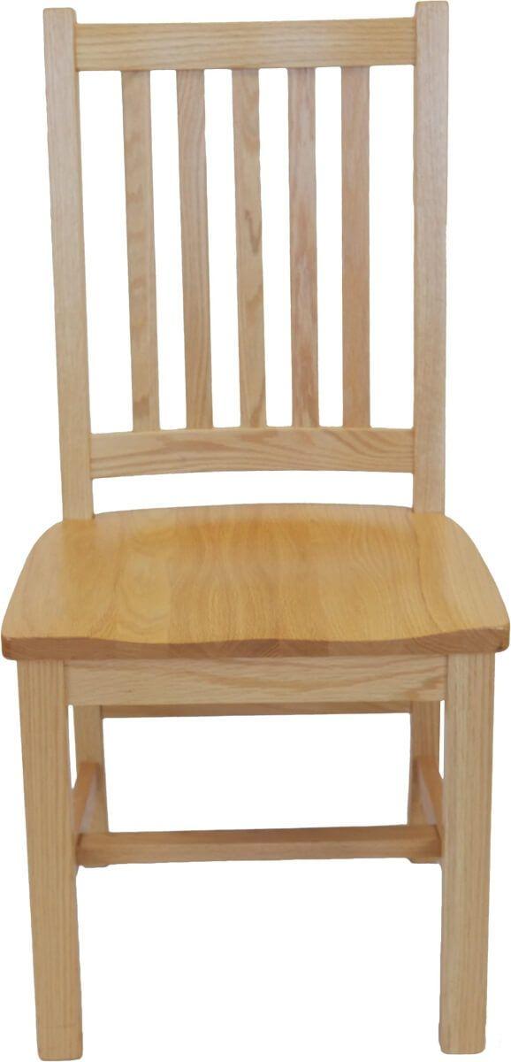 Oak Mission Side Chair