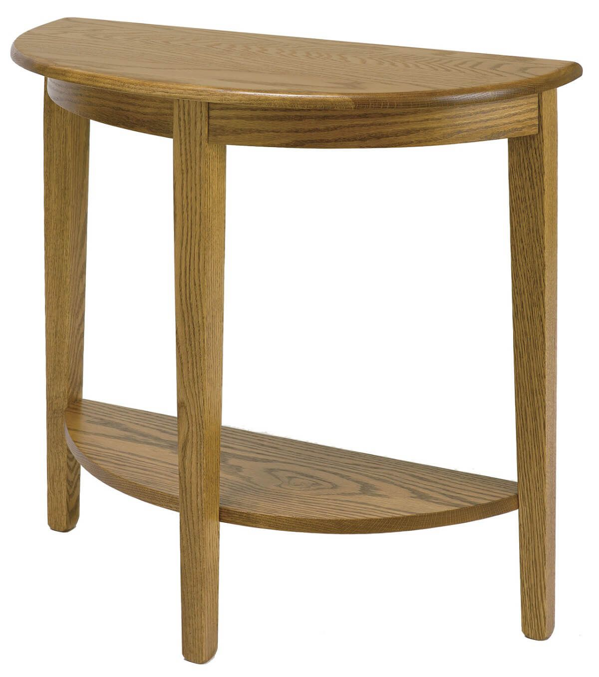 Amish Dodson Foyer Table with Shelf