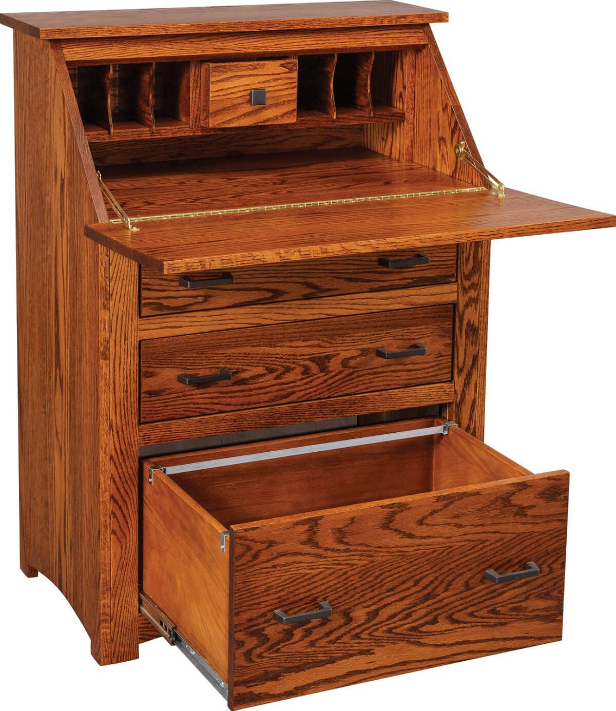 Oak Secretary Desk
