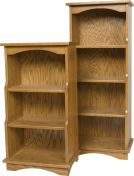 Hunley Amish Bookcase
