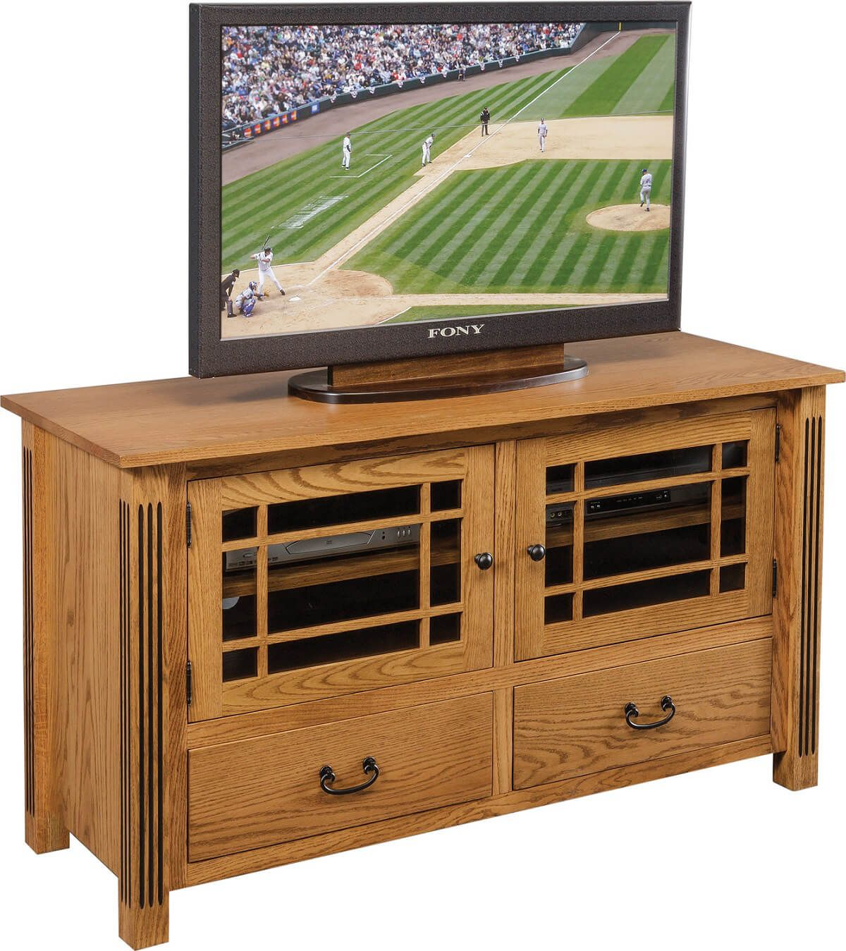 Indian Hill TV Stand in Oak