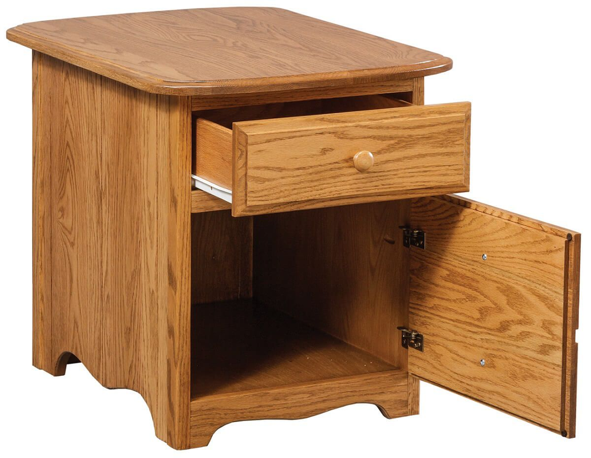 Judson End Table opened