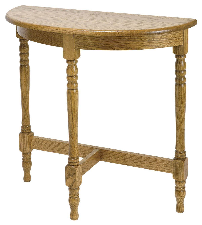 Lemann Foyer Table in Oak