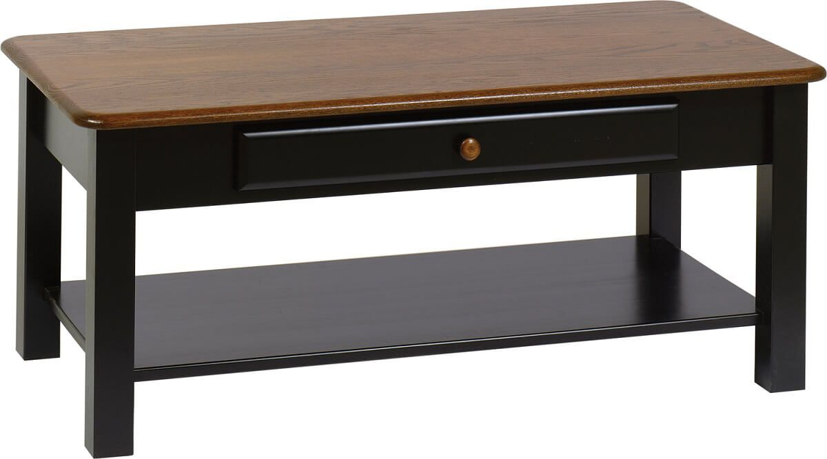 Marvin Coffee Table in two-toned finish