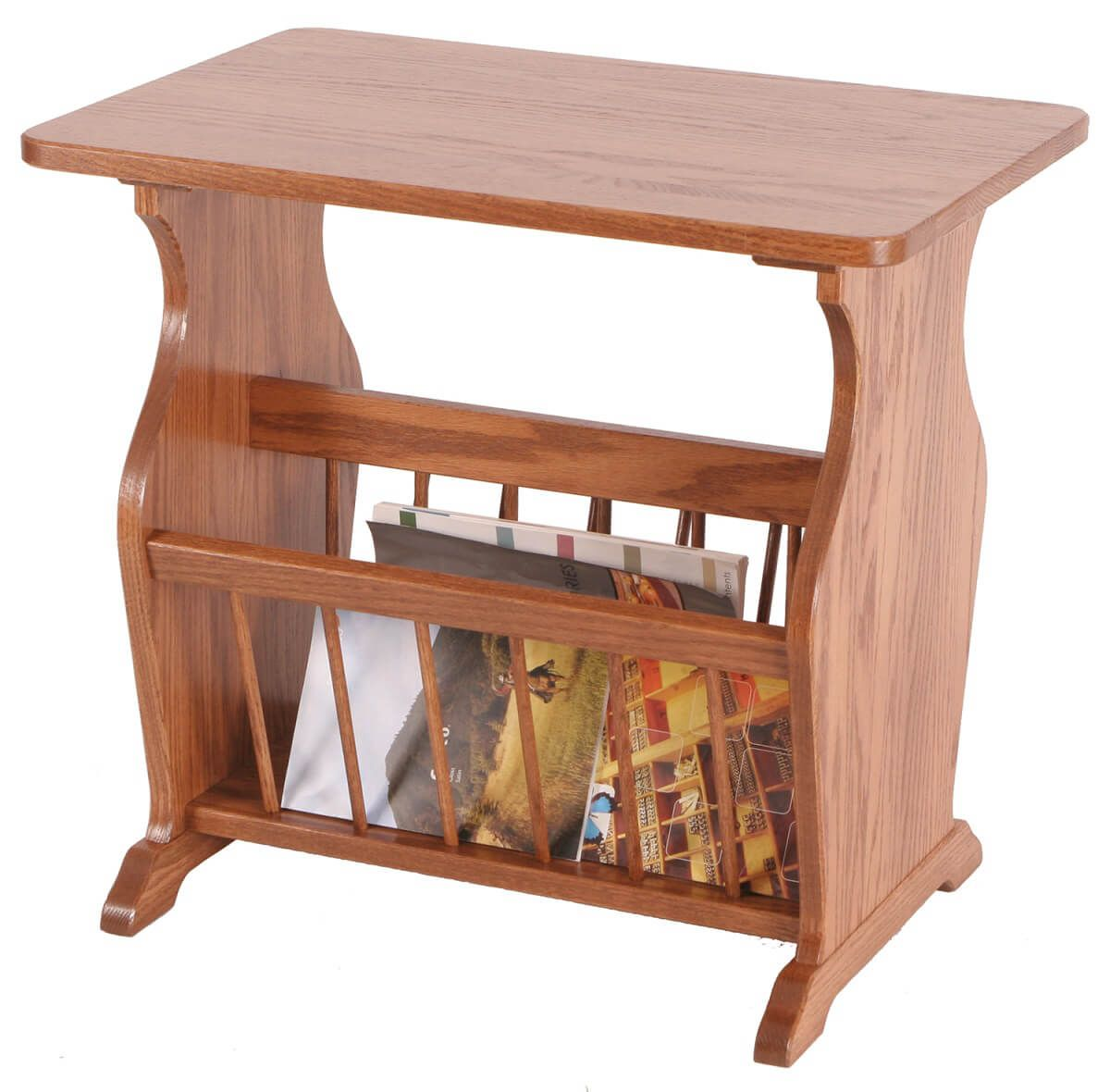Stevens Side Table with Storage