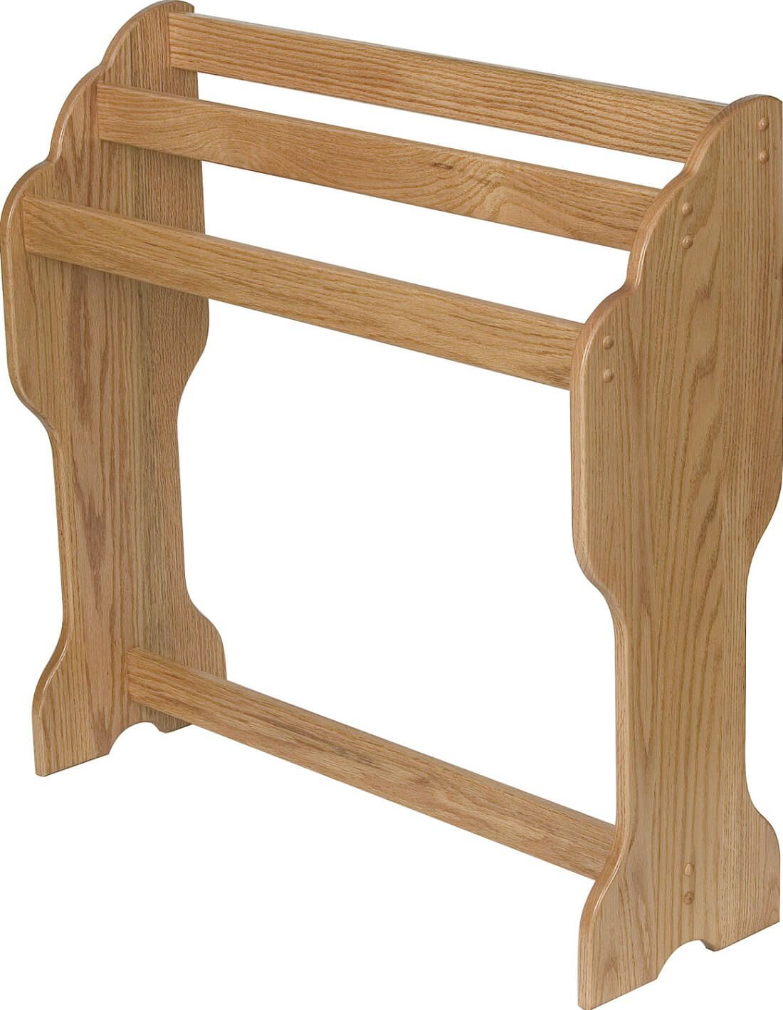 Stratton Quilt Stand in Oak