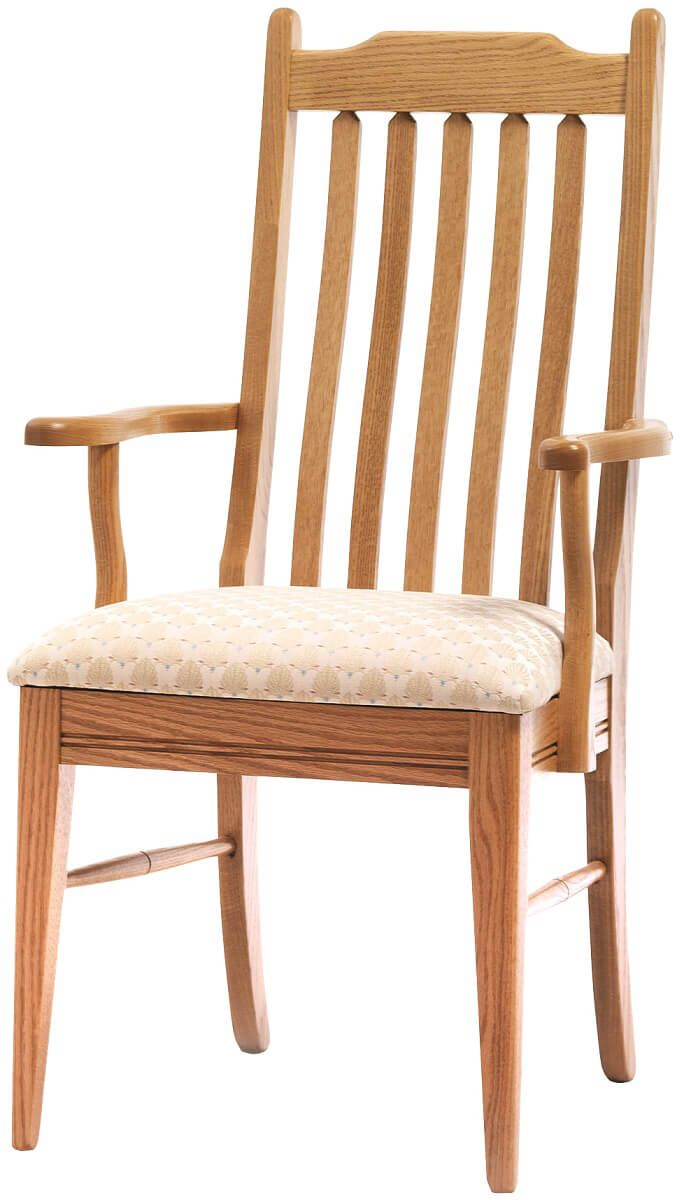 Oak Shaker dining chair