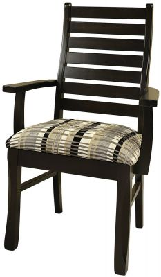 Brastilo Ladder Back Arm Chair