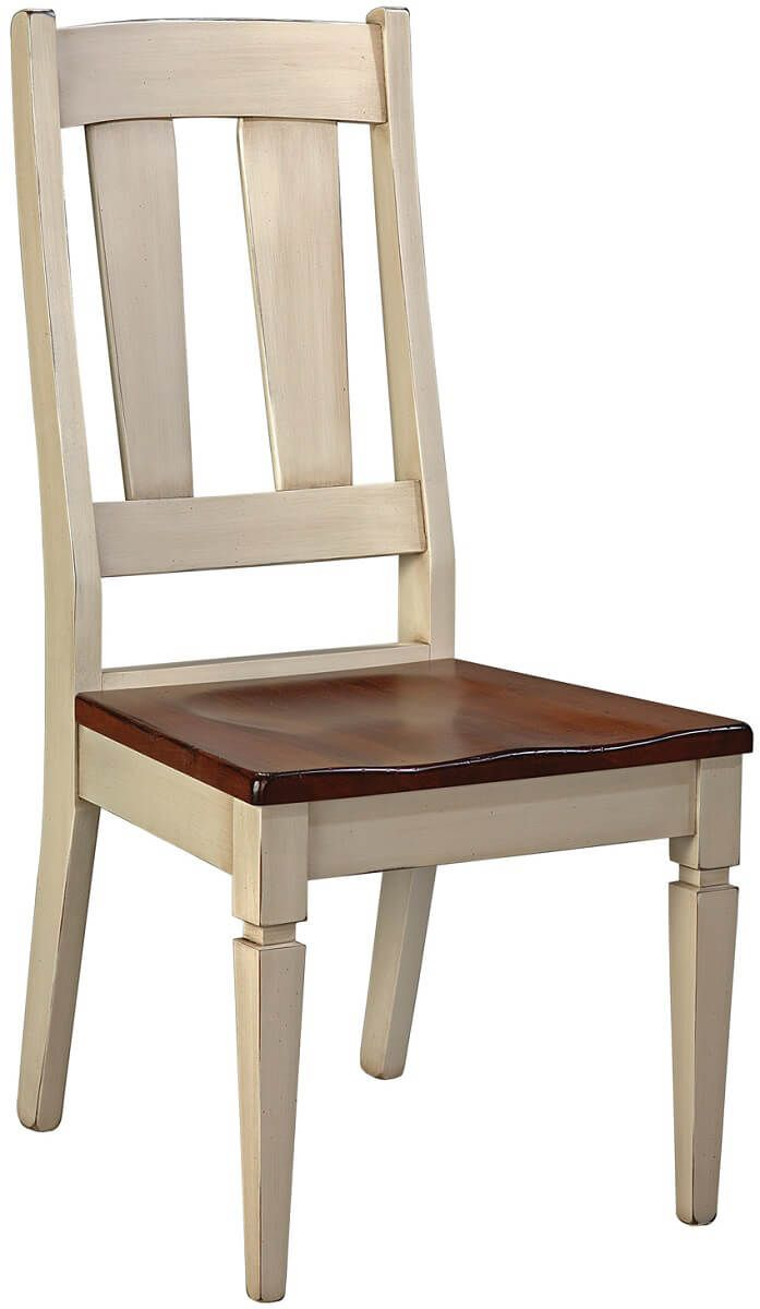 Two-tone Castile Dining Side Chair
