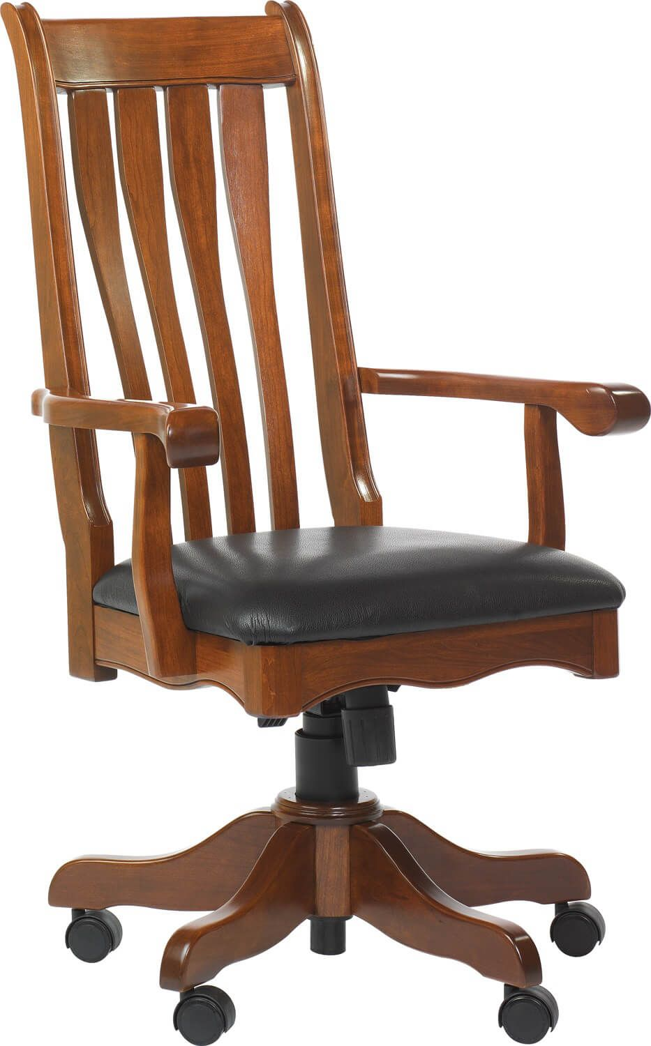 Hanson Desk Chair in Cherry