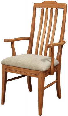 Jericho Dining Chair in Oak