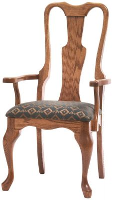 New London Arm Chair in Oak