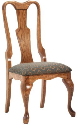 New London Queen Anne Dining Chair Countryside Amish