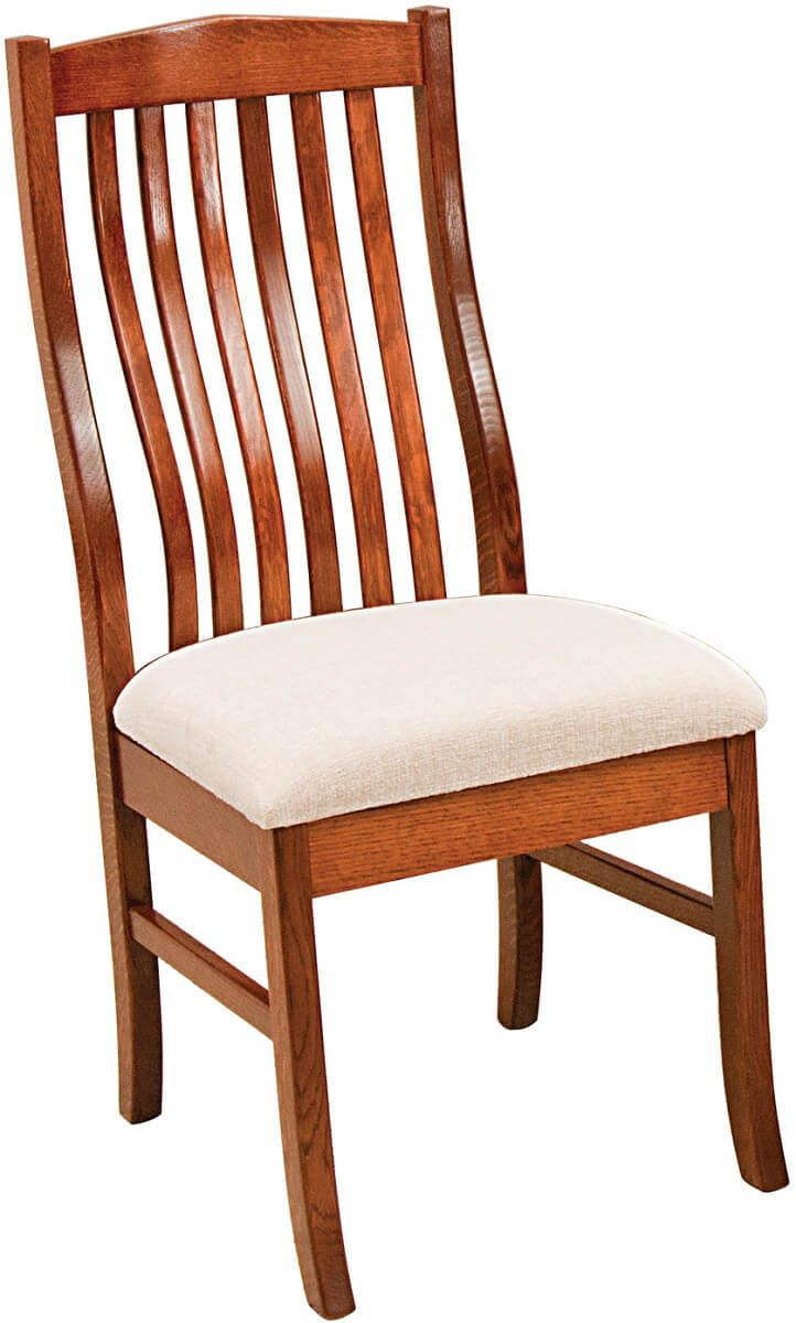 Quartersawn White Oak Kitchen Chair