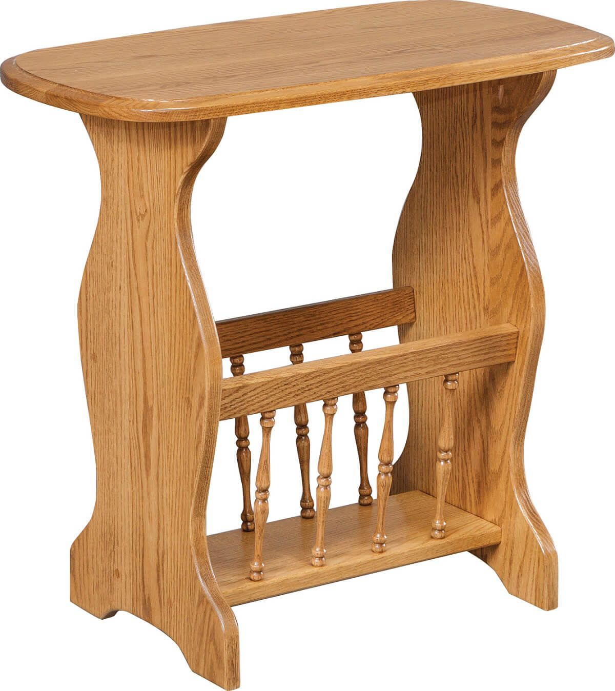 Adelson Magazine Table in Oak