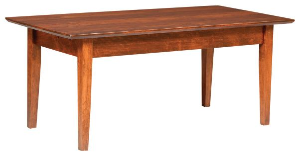 Bradshaw Shaker Coffee Table in Brown Maple