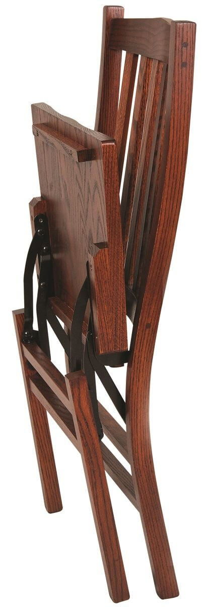 Folded Real Wood Dining Chair