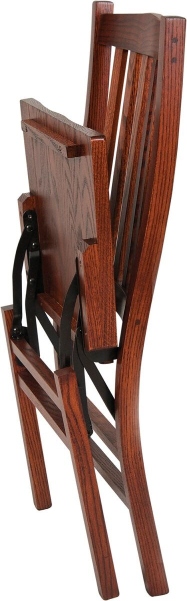Fold-able Solid Wood Chair