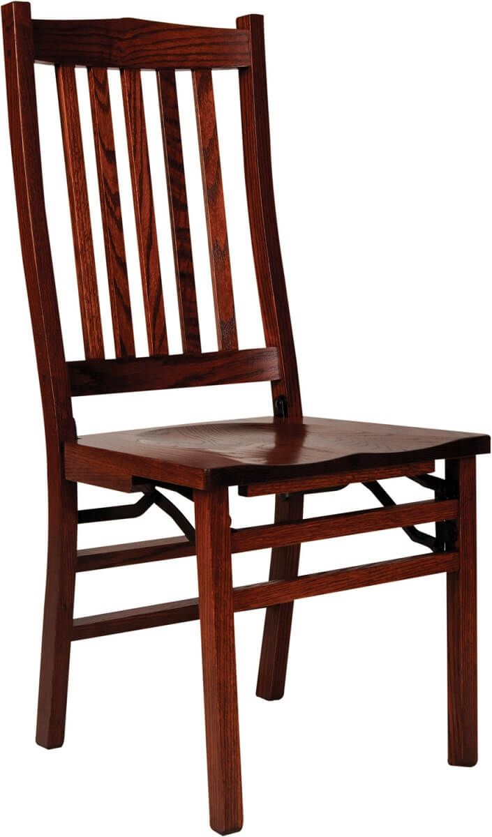 Oak Ethan Folding Chair