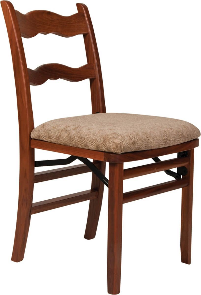 Winthrop Cherry Folding Chair