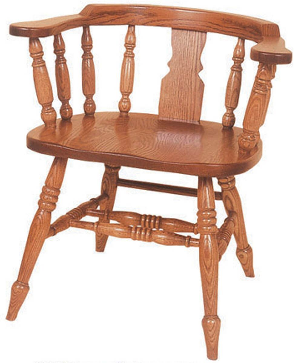 Denmark low windsor slot chairs countryside amish furniture