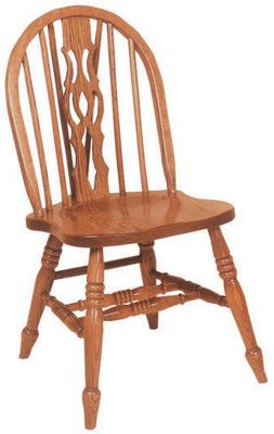 Denmark Low Windsor Slot Side Chair