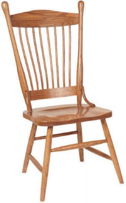 Walpole Spindle Kitchen Chairs - Countryside Amish Furniture