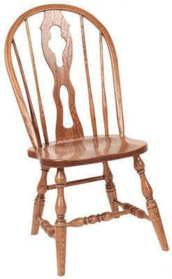 Amish Fiddle Back Chairs
