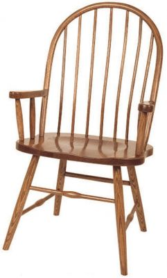 Oak Amish Dining Room Chair
