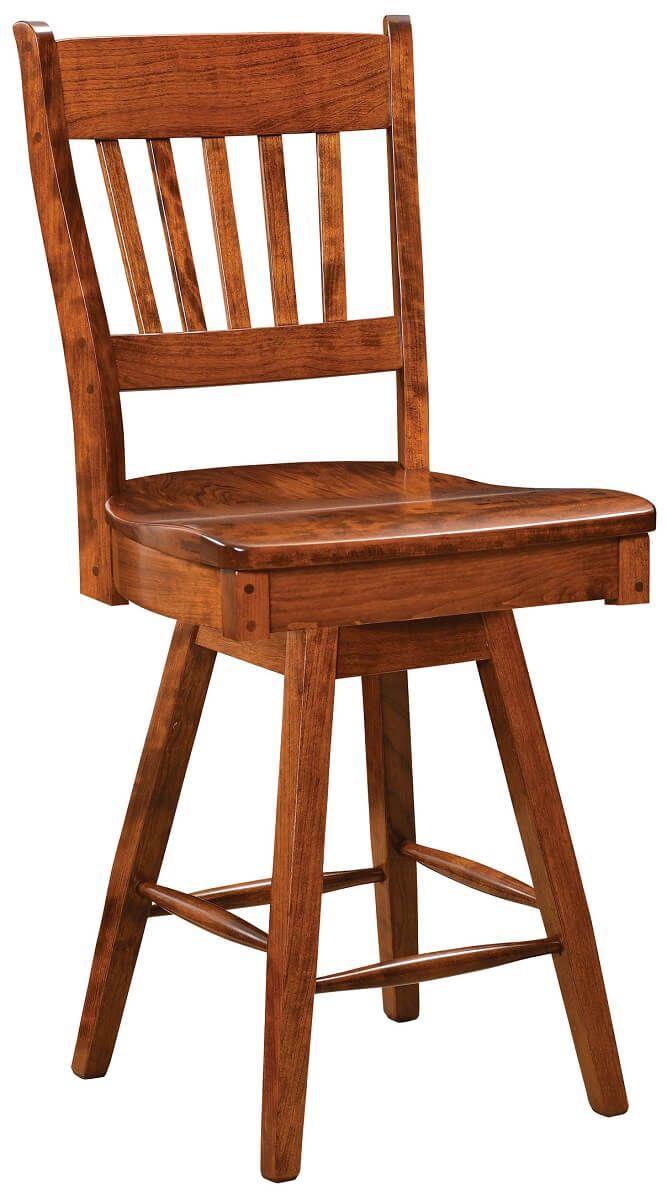 Bolingbroke Swivel Bar Chair